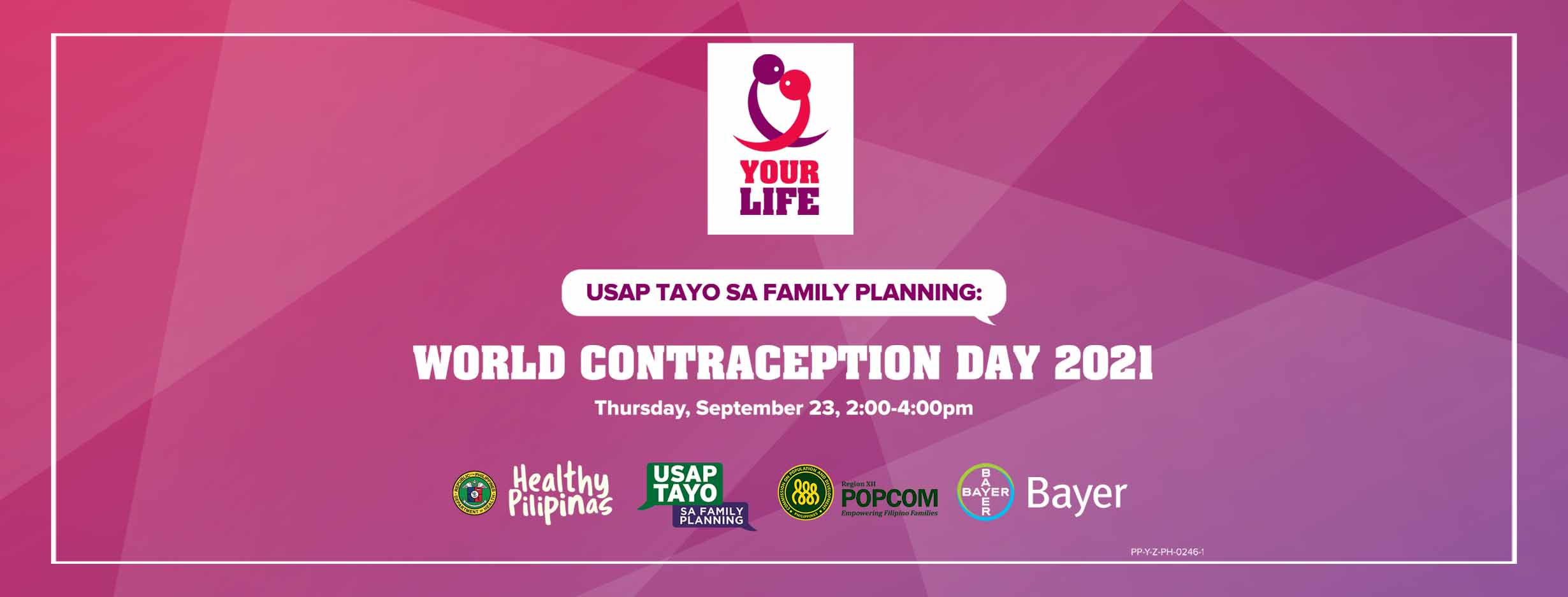 World Contraception Day banner